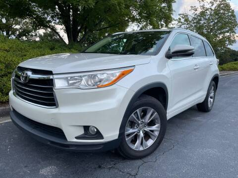 2014 Toyota Highlander for sale at William D Auto Sales in Norcross GA