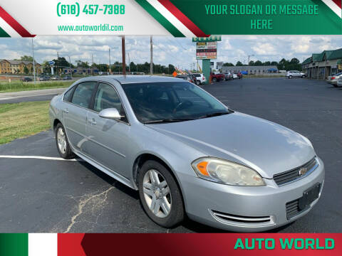 2011 Chevrolet Impala for sale at Auto World in Carbondale IL
