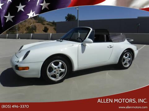1997 Porsche 911 for sale at Allen Motors, Inc. in Thousand Oaks CA