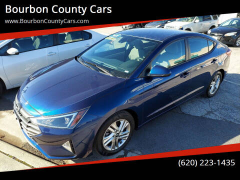 2020 Hyundai Elantra for sale at Bourbon County Cars in Fort Scott KS