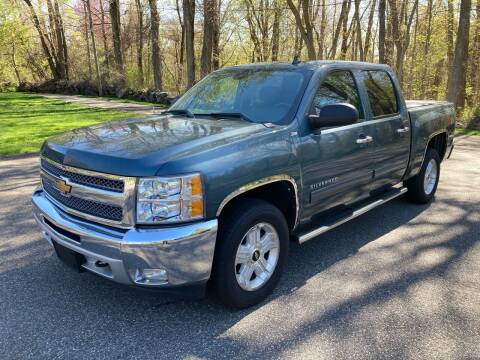 2012 Chevrolet Silverado 1500 for sale at Lou Rivers Used Cars in Palmer MA