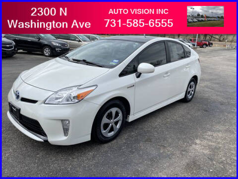 2012 Toyota Prius for sale at Auto Vision Inc. in Brownsville TN