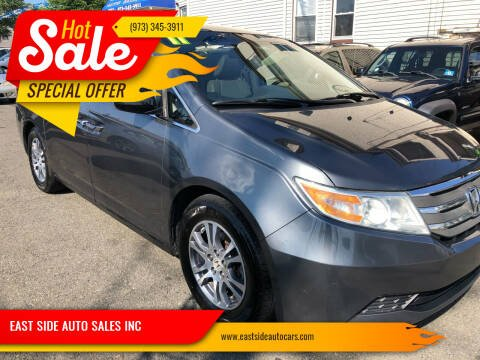 2011 Honda Odyssey for sale at EAST SIDE AUTO SALES INC in Paterson NJ