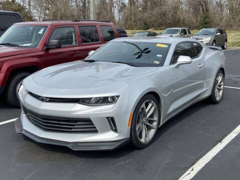 2018 Chevrolet Camaro for sale at Stearns Ford in Burlington NC