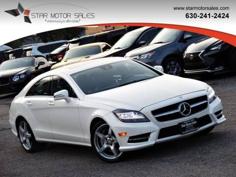 2013 Mercedes-Benz CLS for sale at Star Motor Sales in Downers Grove IL