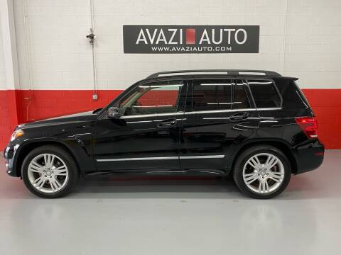 2013 Mercedes-Benz GLK for sale at AVAZI AUTO GROUP LLC in Gaithersburg MD