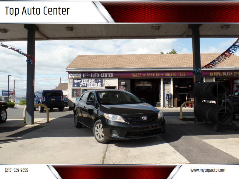 2011 Toyota Corolla for sale at Top Auto Center in Quakertown PA