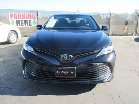 2020 Toyota Camry for sale at Quick Auto Sales in Modesto CA