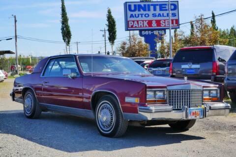1980 Cadillac Eldorado for sale at United Auto Sales in Anchorage AK