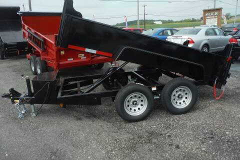 2021 Quality Steel DUMP  6 X 10  7K for sale at Bryan Auto Depot in Bryan OH