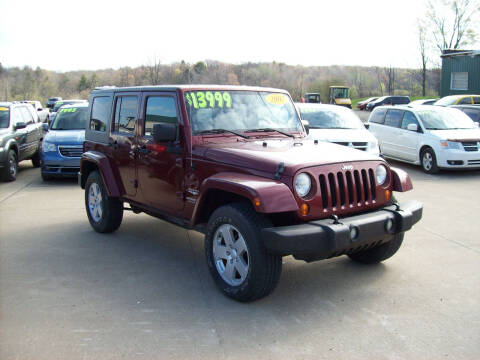 2007 Jeep Wrangler Unlimited for sale at Summit Auto Inc in Waterford PA