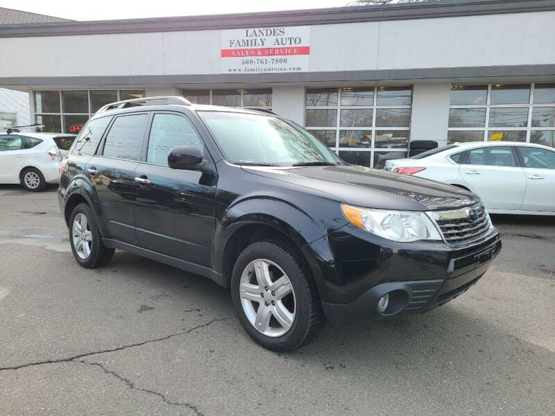 2010 Subaru Forester for sale at Landes Family Auto Sales in Attleboro MA