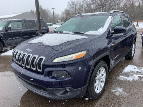 2016 Jeep Cherokee for sale at Blake Hollenbeck Auto Sales in Greenville MI