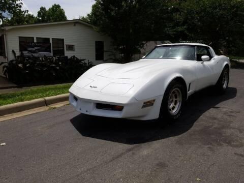 1980 Chevrolet Corvette for sale at TR MOTORS in Gastonia NC