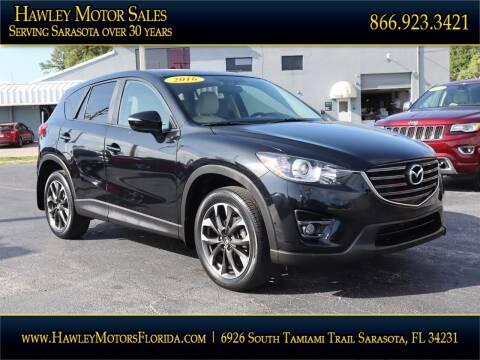 2016 Mazda CX-5 for sale at Hawley Motor Sales in Sarasota FL