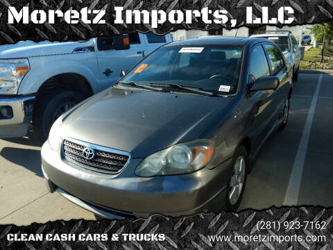 2008 Toyota Corolla for sale at Moretz Imports, LLC in Spring TX