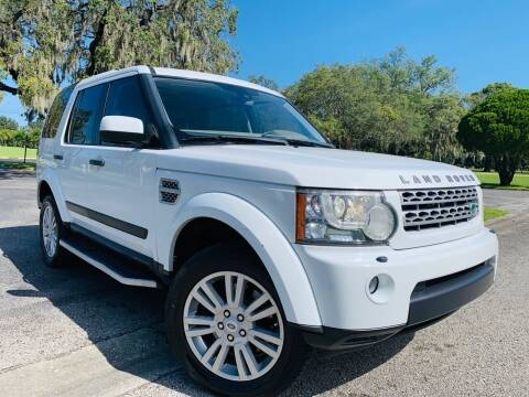 2011 Land Rover LR4 for sale at FLORIDA MIDO MOTORS INC in Tampa FL