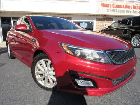 2015 Kia Optima for sale at North Georgia Auto Brokers in Snellville GA