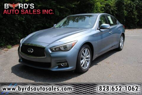 2015 Infiniti Q50 for sale at Byrds Auto Sales in Marion NC