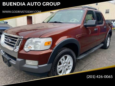 2010 Ford Explorer Sport Trac for sale at BUENDIA AUTO GROUP in Hasbrouck Heights NJ