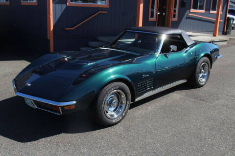 1972 Chevrolet Corvette for sale at Sabeti Motors in Tacoma WA