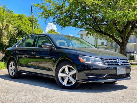 2012 Volkswagen Passat for sale at Venmotors LLC in Hollywood FL
