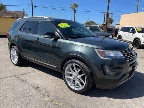 2016 Ford Explorer for sale at JR'S AUTO SALES in Pacoima CA