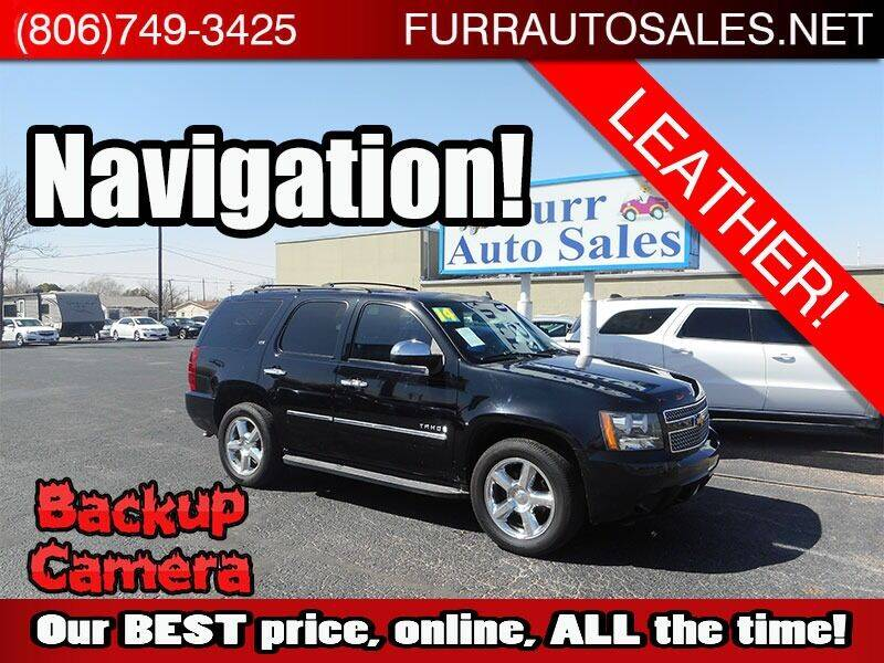 2014 Chevrolet Tahoe for sale at FURR AUTO SALES in Lubbock TX
