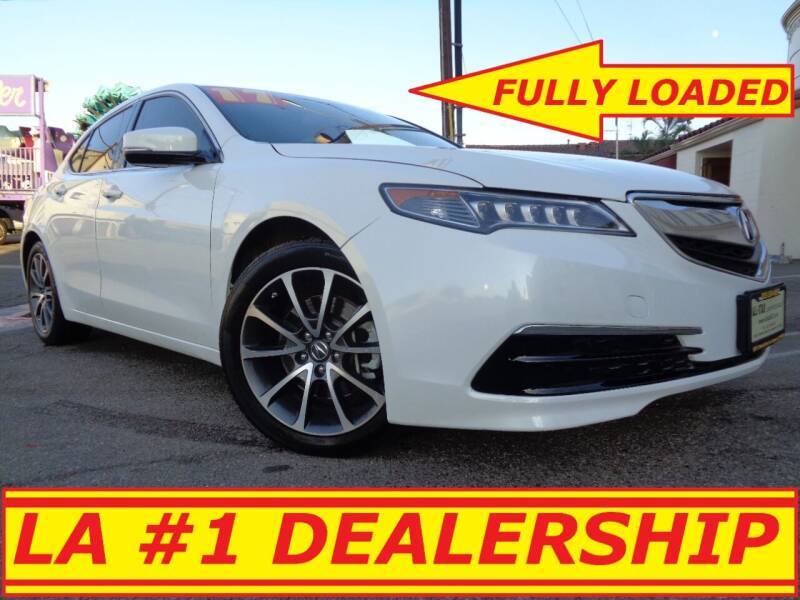 2017 Acura TLX for sale at ALL STAR TRUCKS INC in Los Angeles CA