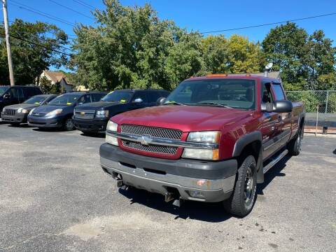 2004 Chevrolet Silverado 2500HD for sale at Auto Gallery in Taunton MA