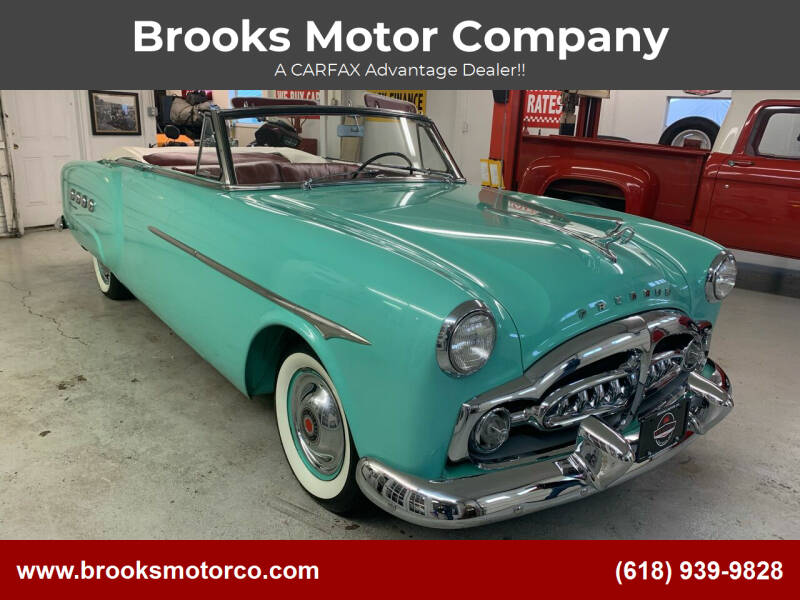 1951 Packard 250 for sale at Brooks Motor Company in Columbia IL