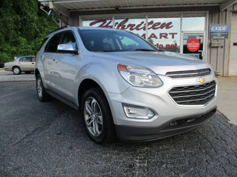 2016 Chevrolet Equinox for sale at Hibriten Auto Mart in Lenoir NC