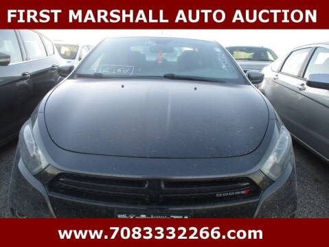 2015 Dodge Dart for sale at First Marshall Auto Auction in Harvey IL
