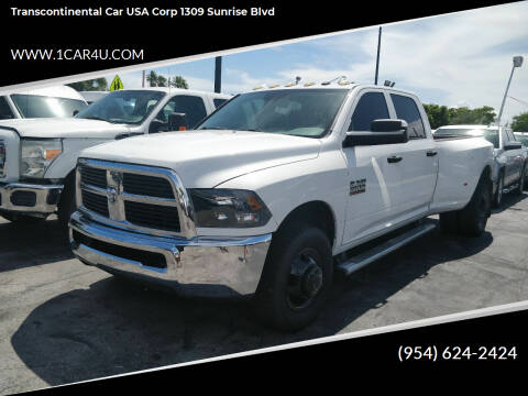2014 RAM Ram Pickup 3500 for sale at Transcontinental Car in Fort Lauderdale FL