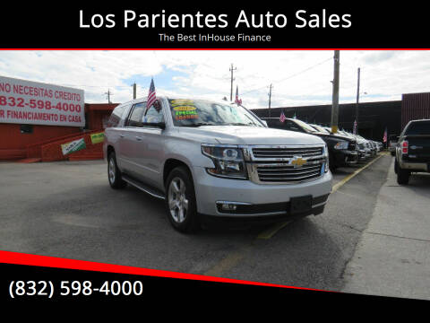 2015 Chevrolet Suburban for sale at Los Parientes Auto Sales in Houston TX