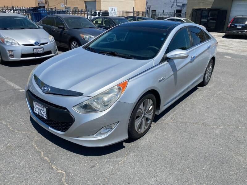 2013 Hyundai Sonata Hybrid for sale at 101 Auto Sales in Sacramento CA