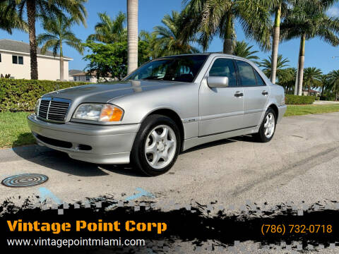 2000 Mercedes-Benz C-Class for sale at Vintage Point Corp in Miami FL