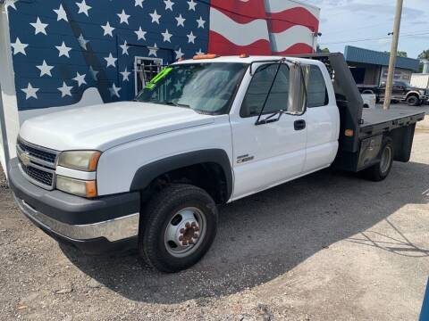 2007 Chevrolet Silverado 3500 CC Classic for sale at The Truck Lot LLC in Lakeland FL