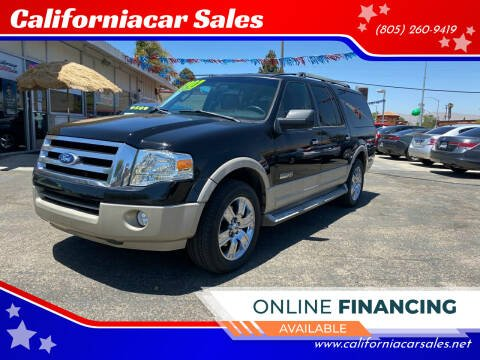 2007 Ford Expedition EL for sale at Californiacar Sales in Santa Maria CA