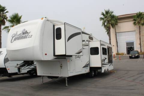 2008 Forest River Cardinal 31SB for sale at Rancho Santa Margarita RV in Rancho Santa Margarita CA