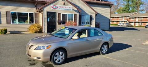 2007 Toyota Camry for sale at V & F Auto Sales in Agawam MA