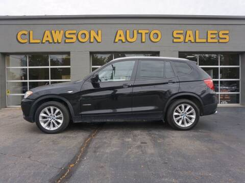 2014 BMW X3 for sale at Clawson Auto Sales in Clawson MI