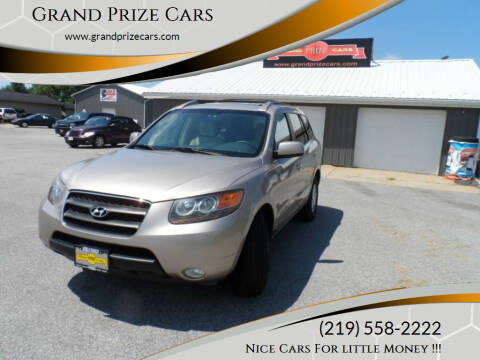 2007 Hyundai Santa Fe for sale at Grand Prize Cars in Cedar Lake IN