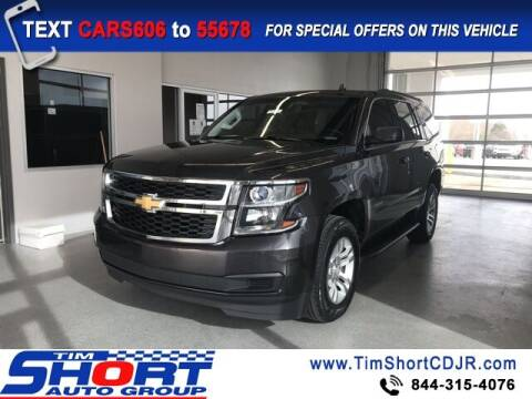 2017 Chevrolet Tahoe for sale at Tim Short Chrysler in Morehead KY