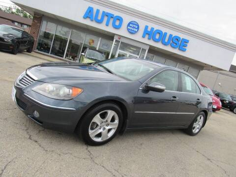 2007 Acura RL for sale at Auto House Motors in Downers Grove IL