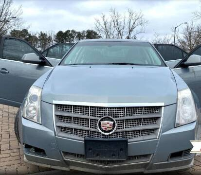 2008 Cadillac CTS for sale at TEXAS MOTOR CARS in Houston TX