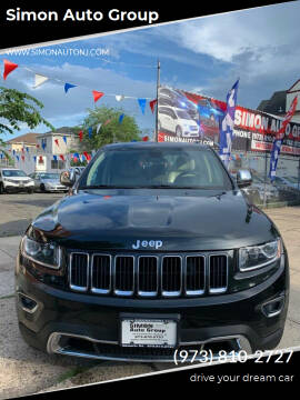 2015 Jeep Grand Cherokee for sale at Simon Auto Group in Newark NJ