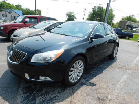 2012 Buick Regal for sale at WOOD MOTOR COMPANY in Madison TN
