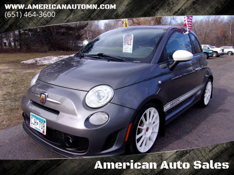 2013 FIAT 500 for sale at American Auto Sales in Forest Lake MN