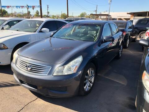 2007 Infiniti G35 for sale at Valley Auto Center in Phoenix AZ
